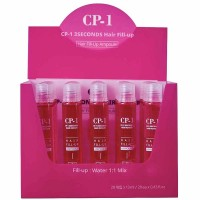 Маска-филлер для волос набор Esthetic House Cp-1 3 Seconds Hair Fill-Up Ampoule 20 pieces*13ml