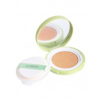 Кушон охлаждающий солнцезащитный THE SAEM Jeju Fresh Aloe Cooling Cushion Natural Baige SPF 50+PA+++ 12g