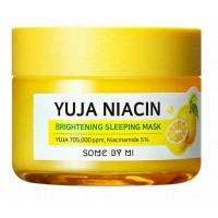 Ночная маска для сияния кожи SOME BY MI Yuja Niacin 30 Days Miracle Brightening Sleeping Mask 60g