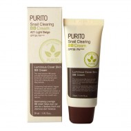 ББ крем c муцином улитки Purito Snail Clearing BB cream №21 Light Beige 30ml