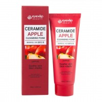 Пенка для умывания с керамидами Eyenlip Ceramide Аpple Cleansing Foam 100ml