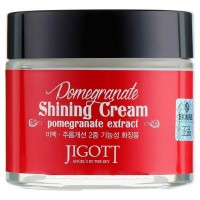 Крем с экстрактом граната для яркости кожи Jigott Pomegranate Shining Cream 70ml