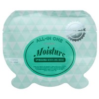 Альгинатная маска со спирулиной Lindsay All-in One Moisture Spirulina Modeling Mask 26g
