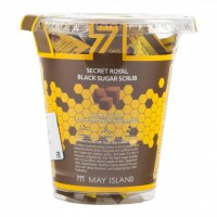 Набор скрабов Mayisland Seven Days Secret Royal Black Sugar Scrub 5g*12 pieces