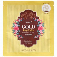 Гидрогелевая маска для лица с экстрактом мёда Koelf Gold & Royal Jelly Mask Pack 30g