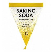 Скраб для лица СОДОВЫЙ J:ON BAKING SODA Baking Soda Gentle Pore Scrub 5g (1ea)