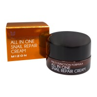 Крем для лица с муцином улитки MIZON All In One Snail Repair Cream Mini