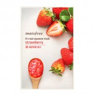 Маска для лица с экстрактом клубники Innisfree It's Real Squeeze Mask Strawberry 20ml