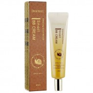 Крем ББ с муцином улитки Deoproce Whitening and Anti-Wrinkle Snail BB Cream SPF50+PA+++ 40ml
