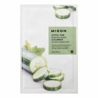 Тканевая маска для лица с экстрактом огурца Mizon Joyful Time Essence Mask Cucumber 23g