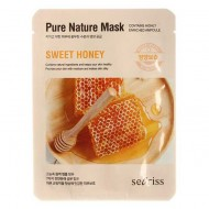 Тканевая маска для лица с экстрактом меда Anskin Secriss Pure Nature Mask Pack Sweet Honey 25ml