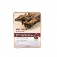Тканевая маска с красным женьшенем Juno JLuna Real Essence Mask Pack Red Ginseng 25ml