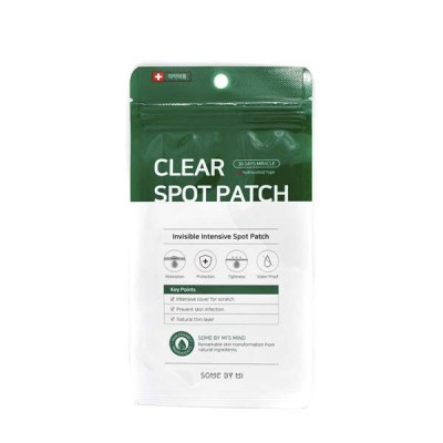SOME BY MI 30 Days Miracle Clear Spot Patch Локальные патчи для проблемной кожи, 18шт