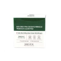 SOME BY MI AHA-BHA-PHA 30 Days Miracle Truecica Clear Pad Отшелушивающие подушечки, 70 шт