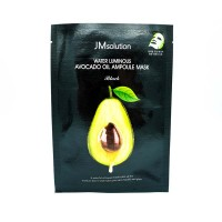 Маска с экстрактом авокадо JMsolution Water Avocado Oil Ampoule Mask Black 35ml