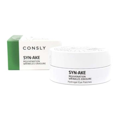 Гидрогелевые патчи с пептидом змеи Consly Hydrogel Syn-Ake Eye Patches, 60 pieces