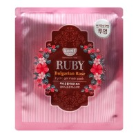 Гидрогелевая маска для лица Koelf Ruby & Bulgarian Rose Mask Pack 30g