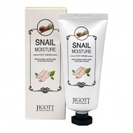 Лифтинг-крем для лица с муцином улитки Jigott Snail Moisture Foot Cream 100ml
