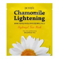 Гидрогелевая маска с экстрактом ромашки Petitfee Chamomile Lightening Hydrogel Face Mask 32g