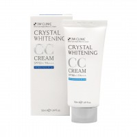 Маскирующий СС крем 3W CLINIC Crystal Whitening CC Cream SPF50+/PA+++ #2