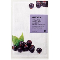 Тканевая маска для лица с экстрактом ягод асаи Mizon Joyful Time Essence Mask Acai Berry 23g