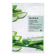 Тканевая маска для лица с экстрактом сока алоэ Mizon Joyful Time Essence Mask Aloe 23g