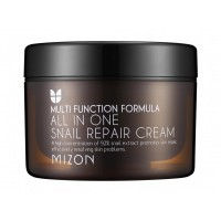 Крем для лица с муцином улитки MIZON All In One Snail Repair Сream 120ml