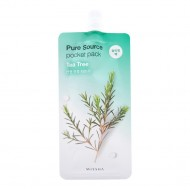 Ночная маска для лица с экстрактом чайного дерева Missha Pure Source Pocket Pack Tea Tree 10ml