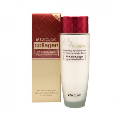 Восстанавливающая эмульсия с коллагеном 3W CLINIC Collagen Regeneration Emulsion 150ml