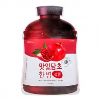 <b>A'Pieu Fruit Vinegar Sheet Mask Pomegranate 20g</b><br>Тканевая маска с экстрактом граната