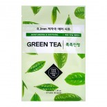 Маска тканевая с экстрактом зеленого чая ETUDE HOUSE 0.2 Therapy Air Mask Green Tea