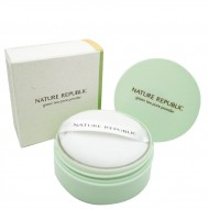 Nature Republic Botanical Green Tea Pore Powder Компактная пудра для кожи с расширенными порами