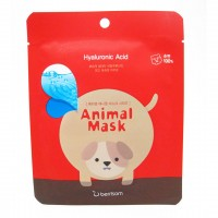Тканевая маска для лица Собака Berrisom Animal Mask Series Dog  25ml