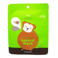 Тканевая маска для лица Обезьянка Berrisom Animal Mask Series Monkey 25ml