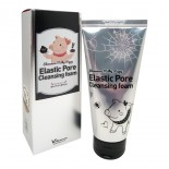 Пенка с древесным углем Elizavecca Face Care Milky Piggy Elastic Pore Cleansing Foam 120ml