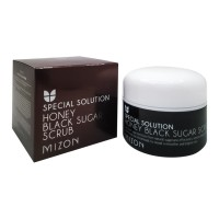 Скраб с черным сахаром MIZON Honey Black Sugar Scrub