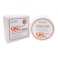 <b>Petitfee Collagen & Co Q10 Hydrogel Eye Patch 60 pieces</b>Гидрогелевые патчи с коллагеном