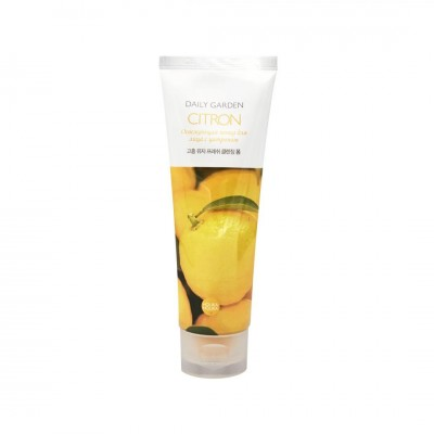 HolikaHolika Daily Garden Citron Fresh cleansing foam from Goheung Очищающая пенка с цитроном