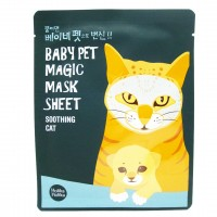 Тканевая маска мордочка Holika Holika Baby Pet Magic Mask Sheet Soothing Cat 22ml