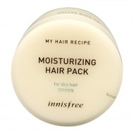<b>Innisfree My Hair Recipe Moisturizing Hair Pack For Dry Hair 100ml</b><br>Увлажняющая маска для сухих волос