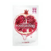 <b>the SAEM Natural Pomegranate Mask Sheet 21ml</b><br>Маска тканевая с экстрактом граната