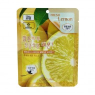 Тканевая маска для лица с экстрактом лимона 3W CLINIC Fresh Lemon Mask Sheet 23ml