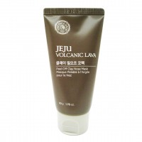 Маска с вулканическим пеплом для кожи носа THE FACE SHOP Jeju Volcanic Lava Peel Off Clay Nose Mask