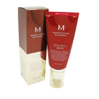 MISSHA M Perfect Cover BB Cream SPF42/PA+++ #29 Caramel Beige Тональный крем