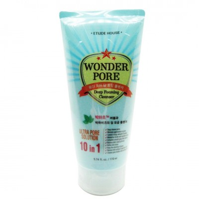Пенка для очищения пор Etude House Wonder Pore Deep Foaming Cleanser 170ml
