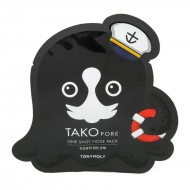 Патч от чёрных точек TONY MOLY Tako Pore One Shot Nose Pack 1,5g