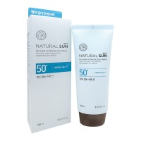 Матирующий солнцезащитный крем THE FACE SHOP Natural Sun Eco No Shine Hydrating Sun Cream SPF50/PA+++