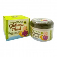 Крем маска с муцином улитки Elizavecca Milky Piggy Glutinous 80% Mask Snail Cream 100ml