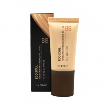 the SAEM Eco Soul Porcelain Skin BB Cream #02 Natural Beige ББ крем