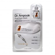 <b>Etude House Dr. Ampoule Dual Mask Sheet Brightening Care 2+24ml</b><br>Двухфазная маска для лица